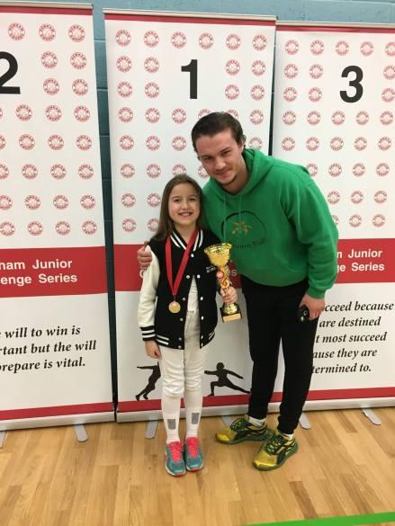 Maddie wins gold
