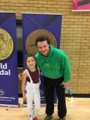 Maddie wins gold2